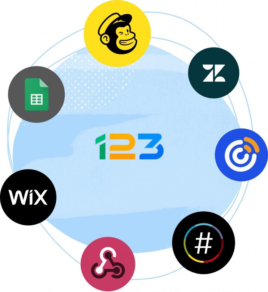 123 form builder integrations